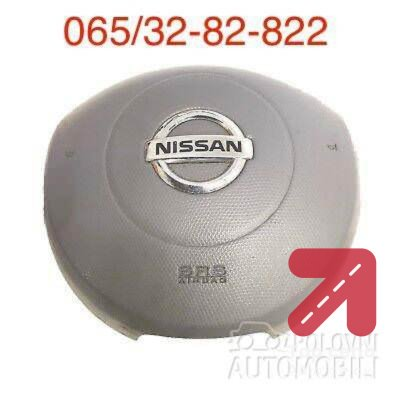 Airbag za Nissan Micra od 2001. do 2010. god.