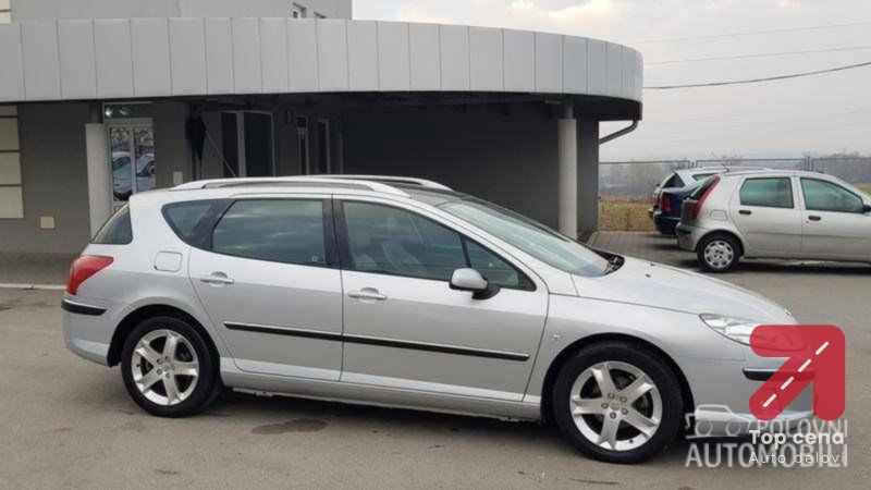 Branik za Peugeot 407 od 2004. do 2010. god.