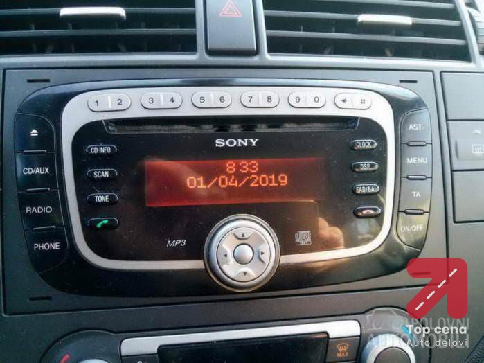 cd muzika focus za Ford Focus od 2009. do 2014. god.
