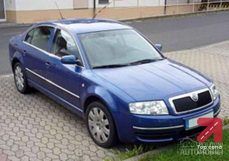 Delovi za Škoda Superb od 2001. do 2008. god.