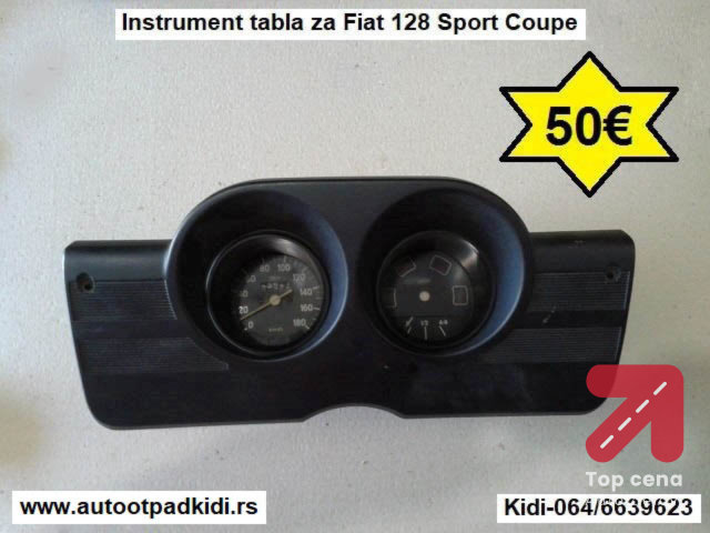 Instrument tabla za Fiat 128 Sport Coupe