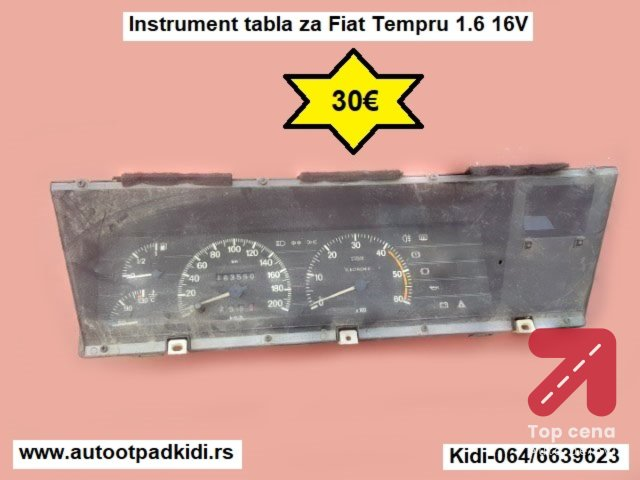 Instrument tabla za Fiat Tempru 1.6 16V