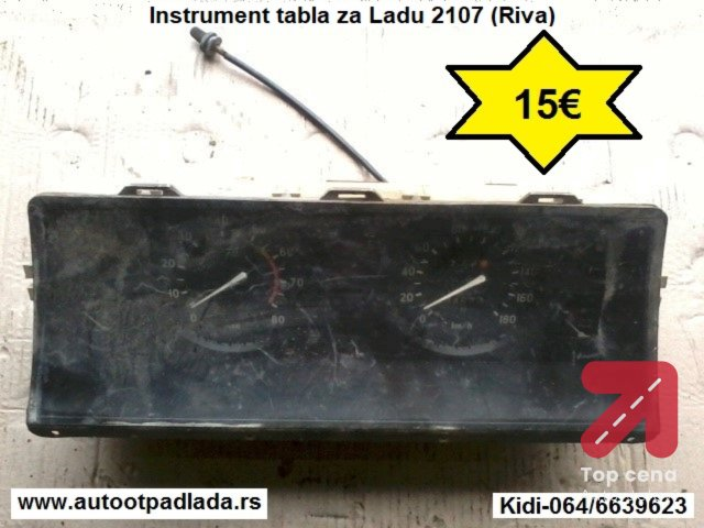 Instrument tabla za Ladu 2107 (Riva)