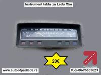 Instrument tabla za Ladu Oka